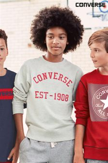 Converse Oatmeal Heather Vintage Type Crew