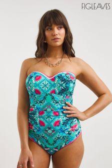 Ted Baker Black Leather Panelled Dress