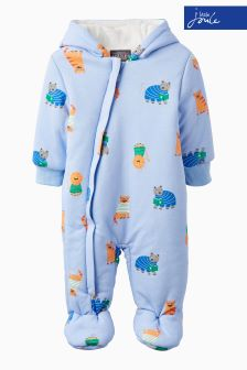 Joules Baby Blue Jersey Pramsuit