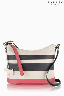 Radley® Multi Stripe Berwick Street Small Scoop Across Body Bag