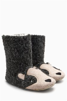 Badger Slipper Boots