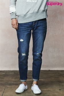 Superdry Light Wash Riley Girlfriend Jean