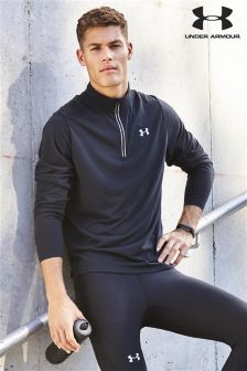 Under Armour Run Black Streaker 1/2 Zip Top