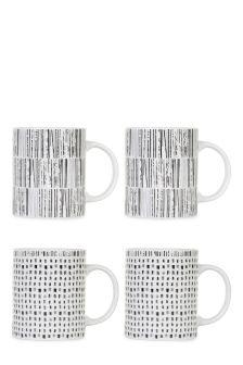 Set Of 4 Brooklyn Mugs