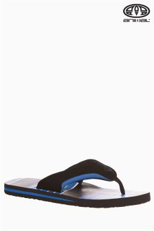 Animal Jekyl Torn Blue Flip Flop