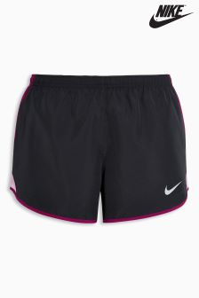 Nike Black/Purple Dry Running Short