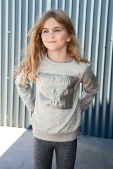 Mermaid Scuba Sweat Top (3-16yrs)