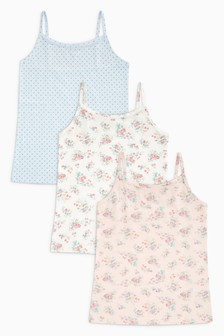 Floral Camis Three Pack (3-16yrs)