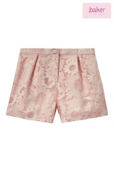 Baker By Ted Baker Pink Lace Short