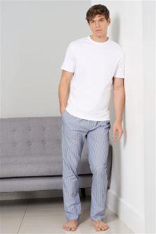 Stripe Woven Long Set