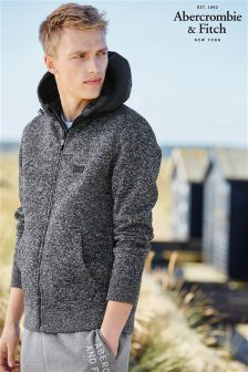 Abercrombie & Fitch Hybrid Hoody