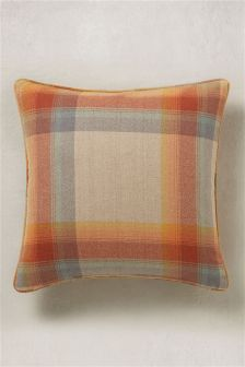 Ashworth Check Cushion