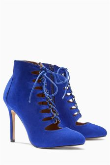 Lace-Up Shoe Boots