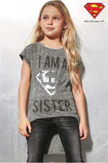 Supergirl® Sister T-Shirt (3-16yrs)
