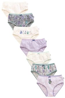 Bunny Briefs Seven Pack (1.5-12yrs)