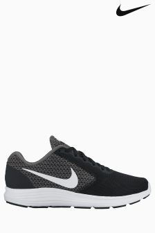 Nike Dark Grey Revolution 3
