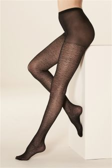 Lace Pattern Tights