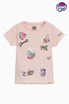 My Little Pony Badge Short Sleeve T-Shirt (3-16yrs)