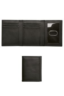 Leather Textured Tri Fold Wallet