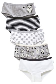 Panda Hipsters Five Pack (3-16yrs)