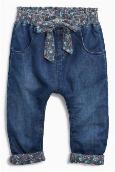 Bow Pull-On Trousers (3mths-6yrs)