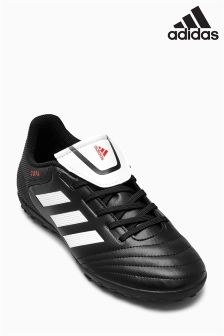 adidas Black/White Copa 17.4 Turf Football Boot
