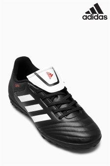 adidas Black/White Copa 17.4 Turf Football Boot