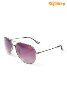 Gunmetal Superdry Sunglasses