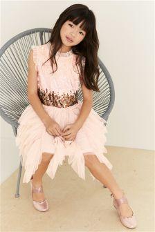 Sequin Petal Dress (3-16yrs)