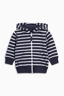 Essential Stripe Zip Through (3mths-6yrs)