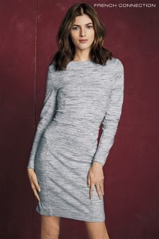 French Connection Grey Lula Stretch Dress
