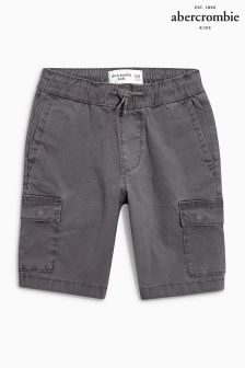 Abercrombie & Fitch Grey Cargo Short