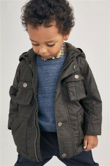 Cotton Coated Jacket (3mths-6yrs)