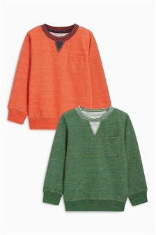 Crew Tops Two Pack (3mths-6yrs)