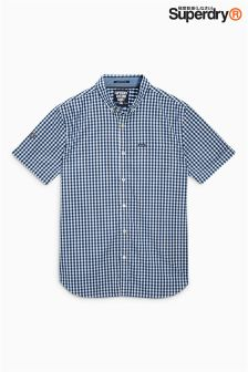 Superdry Short Sleeve Gingham Check Shirt