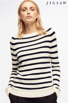 Jigsaw Cashmere Knit