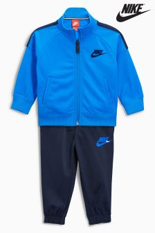 Nike Little Kids Blue Futura Tricot Set