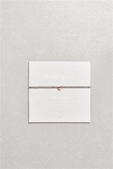 Charm Beady Ball Bracelet
