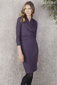 Hobbs Navy Laine Dress