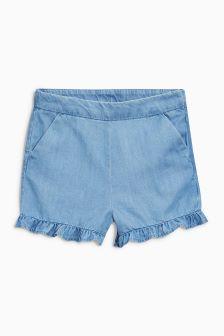 Frill Hem Shorts (3-12yrs)