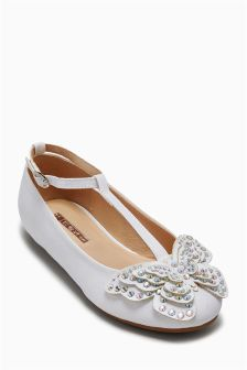 Embellished Butterfly Shoes (Older Girls)