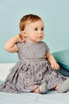 Lace Dress (0mths-2yrs)