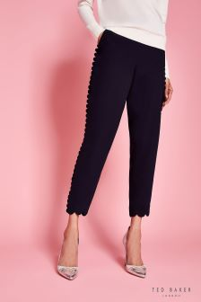 Ted Baker Black Dyanni Scallop Jogger