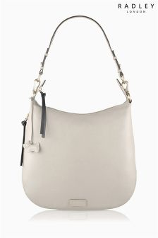 Radley® Natural Pudding Lane Large Ziptop Hobo