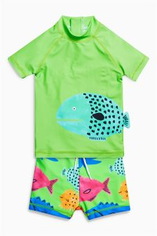 Fish Two Piece Set (3mths-6yrs)