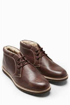 Leather Hiker Razor Chukka Boot