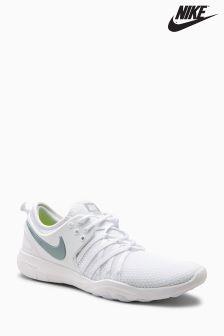 Nike White Free TR 7