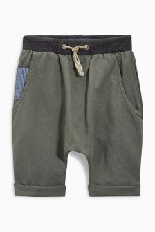 Loose Fit Linen Rich Shorts (3mths-6yrs)