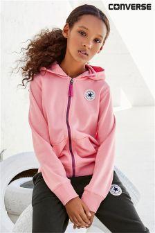 Converse Pink Zip Hoody