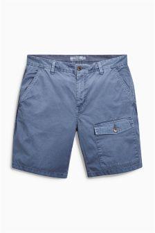 Washed Pocket Shorts